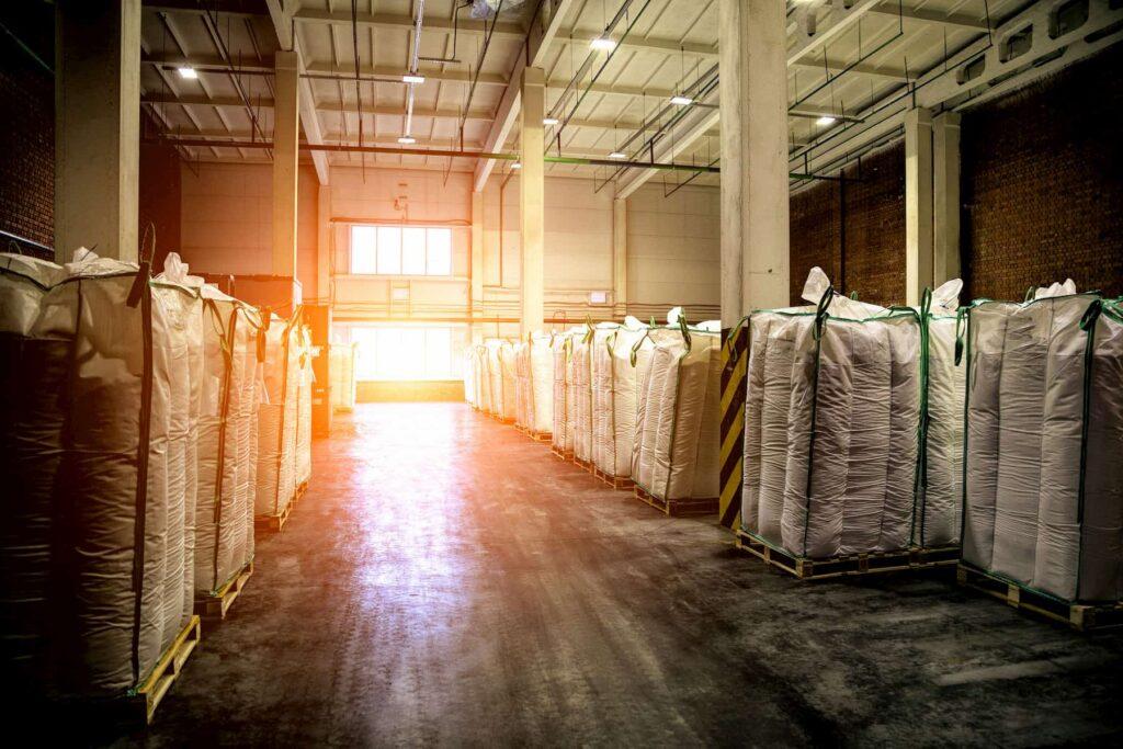 Wykorzystanie worków Big Bag